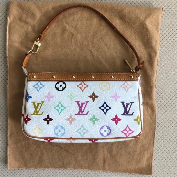 a32967e9159a Louis Vuitton Handbags - Louis Vuitton Multicolor Pochette